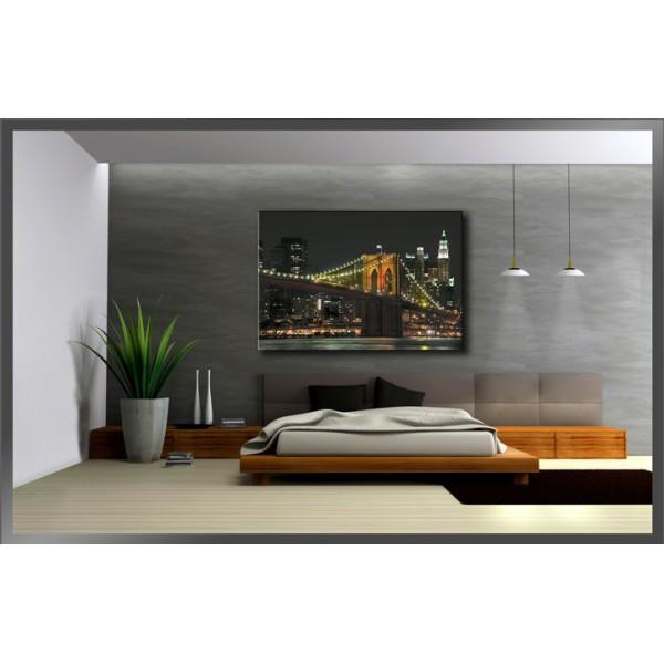Cuadro manhattan for Cuadros modernos decoracion para tu dormitorio living